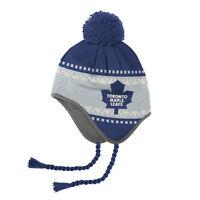 Reebok NHL FACE OFF Tassle Knitted Pom (Mütze) TORONTO MAPLE LEAFS (uvP € 24,95)