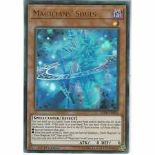 LED6-EN002 Magicians' Souls | 1st Edition Ultra Rare | YuGiOh Trading Card Game
