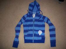FOX RIDERS CO-Fox Girls Blue Zip-up Hoodie Sweat Shirt-Junior's Size: Large