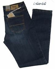 Jeans uomo 46 48 50 52 54 56 58 60 HOLIDAY strech vita alta scuro sabbiato LENOV