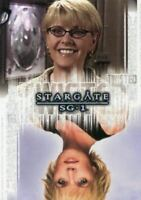 Stargate SG-1 Season Eight Twisted Samantha Carter Rewards Chase Card T10