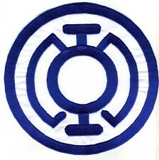 "5"" Blue Lantern Corps Classic Style Embroidered Iron-On Patch"