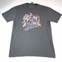 UTAH JAZZ NBA Basketball Players Graphic T-shirt Size M Medium #918