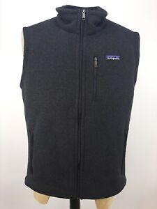 Patagonia Men's Better Sweater Vest Size Large Black