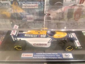 "1/18 Minichamps Williams FW15C Alain Prost 1993 World Champion ""Camel"""