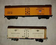 TT Scale, Railroad Box Cars, lot of 2, see ad and photos. (10B)