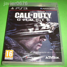 CALL OF DUTY GHOSTS NUEVO Y PRECINTADO PAL ESPAÑA PLAYSTATION 3