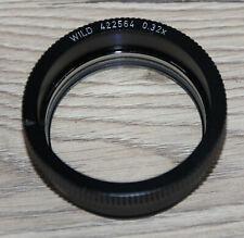 Leica/Wild Microscope Microscope Stereo Microscope Lens 0,32x (no 422564)