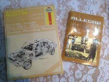 Austin Allegro Haynes Manual (164) plus Owner's Manual