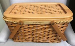 2000 Longaberger Founders Market Basket Combo - Great Condition!