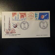Nuevo Caledonia correo vista Aérea nº 85a pa sobre letra cover 1er día fdc