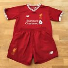 Liverpool FC 125 Years Anniver 2017-18 Home Kids Kit Size 4-5 Years PLEASE READ