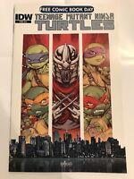 FCBD TMNT Teenage Mutant Ninja Turtles IDW 2015 no stamp NM