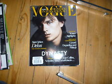 Vogue Quarterly Magazines for Men in English