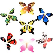 7X Creative Magic Butterfly Flying Change From Empty Hands Freedom Toys Tricks