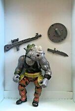TMNT Ninja Turtles ROCKSTEADY 1988 100% COMPLETE Vintage Figure RARE ORIGINAL