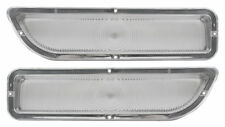 1962-1966 GMC Pickup Truck Parking Light Lens Clear Pair