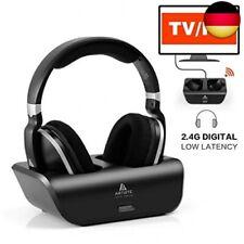 Digitales Funkkopfhörer 2.4GHz Übertragungsfrequenz Over Ear schwarz (schwarz)