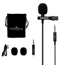 Professional Best Small Mini Lavalier Lapel Lav Condenser Microphone for Apple
