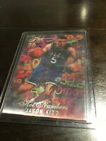 1995-96 Flair Hot Numbers #6 Jason Kidd RARE 3D Insert