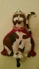 Royalty Calico Cat Wall Hook by Kathy Hatch Collection