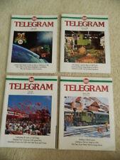 LGB TELEGRAM MAGAZINE SET 1998 VOLUME 9 NUMBERS 1 2 3 & 4 IN GREAT CONDITION!