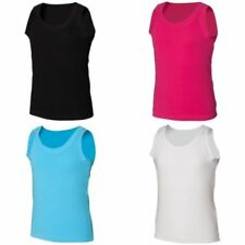 Patternless Vest Top Sleeveless T-Shirts & Tops (2-16 Years) for Boys