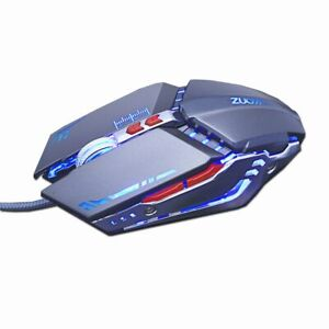 Gaming Mouse Mause DPI Adjustable Computer Optical LED Game Mice Wired USB Games