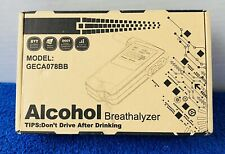 Alcohol Breathalyzer Geca078Bb Open Box, Free Shipping!