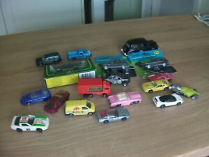 Vintage Toy Cars Job Lot, Matchbox, Maisto, Majorette etc, playworn and new