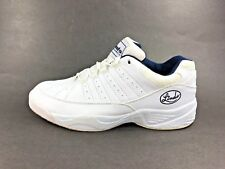 Vintage Linds™ ~ Men White Classic Bowling Shoes size 9.5 ~ 2000-02W G. Poloni