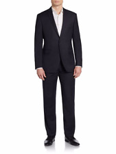 Saks Fifth Avenue RED Trim-Fit Pinstripe Wool Suit, Fully lined, 40R, $895, NWT