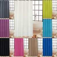 KAV High Quality BATHROOM Bath Shower Curtain Curtains + matching HOOKS 10 colo
