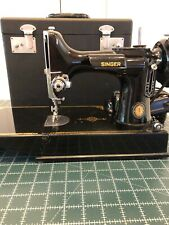 Vintage Singer Portable Featherweight Electric Sewing Machine