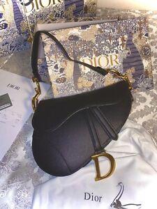 Authentique Sac Saddle Dior - Noir