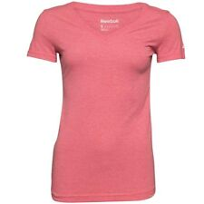 Reebok CrossFit BareMOVE Playdry Triblend Training Top, Red, Small, RRP £34.99