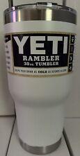 YETI RAMBLER 30 OZ TUMBLER (WHITE)