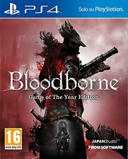 BLOODBORNE GOTY  PS4   PLAYSTATION 4