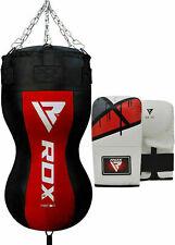 Rdx Heavy Punching Bag Angle Punch Filled Body Kick Boxing Set Training Mma Br
