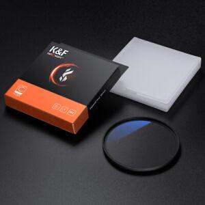 K&F Concept 77 MM UV Camera Lens Filter Ultraviolet Protection MCUV Multi-Coat