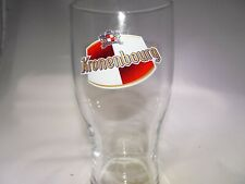 Beautiful Kronenbourg Embossed 1664 Pint Glass Beer Euro Pale Lager France EUC