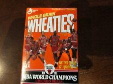 SET 1991 Chicago Bulls NBA  Champions Mini Wheaties Box Unopened Michael Jordan