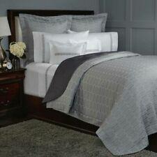 Pratesi Hotel KING Duvet Cover 100% Egyptian Cotton Brand New Grey White Check