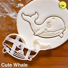 Whale cookie cutter | marine ocean party conservation orca mammal biscuit