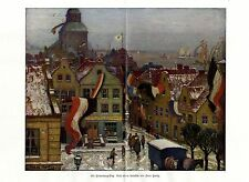 1915 Hans Hartig * Ein Hindenburg-Sieg  * antique print