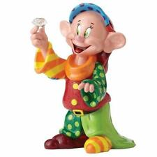 "Disney Britto ""Dopey 80th Anniversary Piece"" Figurine 4055687 Snow White"