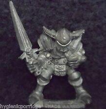1988 GUERRIERO Caos di Khorne 0217 12 Citadel Warhammer Esercito Orde EVIL FIGHTER