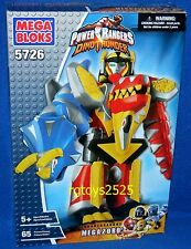 Power Ranger Dino Thunder Mega Bloks Thundersaurus Megazord  2004 Factory New
