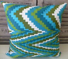 Illusion Greens cushion cover 45x45