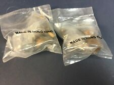 Vintage star wars Jabba the Hutt Bowl Pipe lot Sealed bag X2 !! LOT kenner 1983